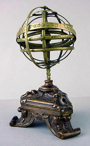 Late-medieval armillary sphere