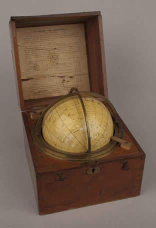 Starfinder globe, c. 1925