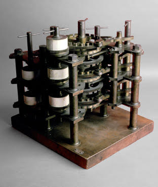 Portion of the Babbage Difference Engine