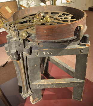 Dividing engine, copy of Ramsden's second engine, London, c. 1800.