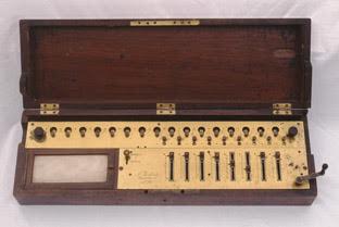 Burkhardt Arithmometer