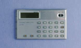 Casio Mini Card MC-34 electronic calculator