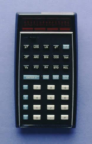 HP-35 electronic calculator