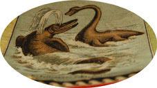 Detail of Spanish globe