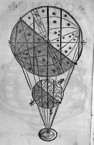 "Illustration from Apian's ""Cosmographiae"""