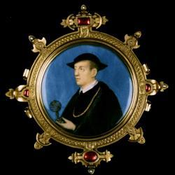 Miniature portrait of Nicholas Kratzer