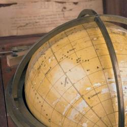 Detail from the Starfinder globe by Cary & Co.