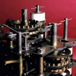 Detail from the Babbage Difference Engine No. 1