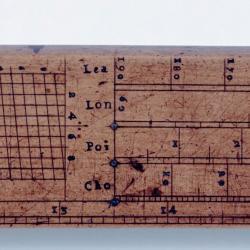 Detail from Gunter rule