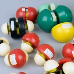 Selection of molecules made using the Courtauld Atomic Model Set