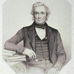 Portrait of John Stevens Henslow.