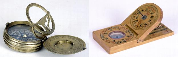 Astronomical compendium, including equinoctial dial, by Charles Whitwell, London, 1604 & a Pseudo-equinoctial dial, by Fang Xiu-shui, Xiuning County, China, 19th century.