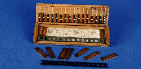 Abacus and base and Napier's bones