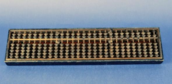 Chinese suanpan abacus