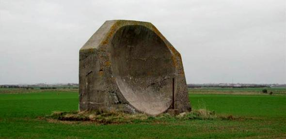 World war one concrete acoustic mirror.