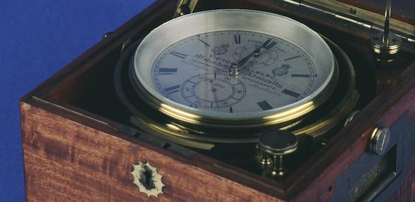 Chronometer, in gimbal and fitted box