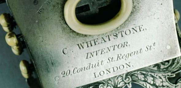 Detail of Wheatstone's Symphonium