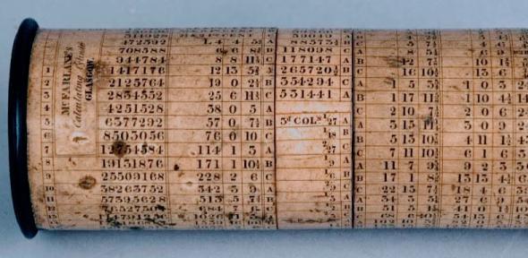 McFarlane's calculating cylinder