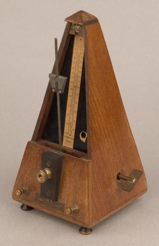 Metronome, French, late 19th or early 20th century