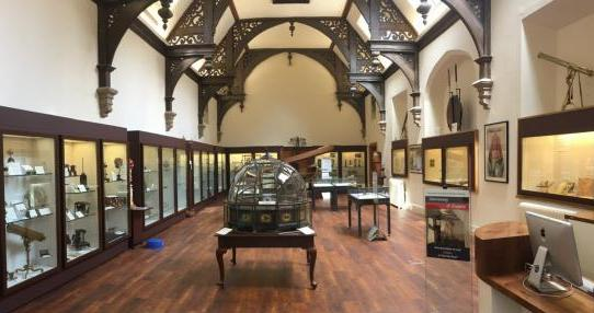 Main gallery of the refurbished Whipple Museum