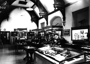 The Perse Hall after it became the main gallery of the Whipple Museum